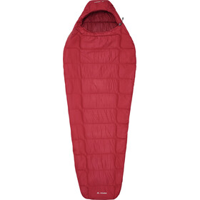 VAUDE Sioux 400 Syn Śpiwór, dark indian red